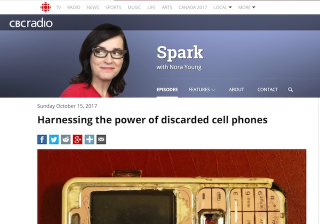 My intreview with the Spark show on the CBC Canadian Public radio
